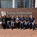 Empower Volunteers at Young Americans Center